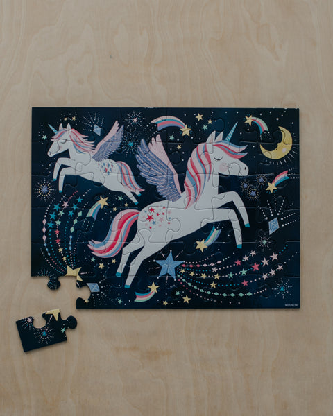 Unicorn Puzzle To Go - 36 Piece