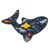 Deep Sea Shark Shaped 80 Piece Puzzle
