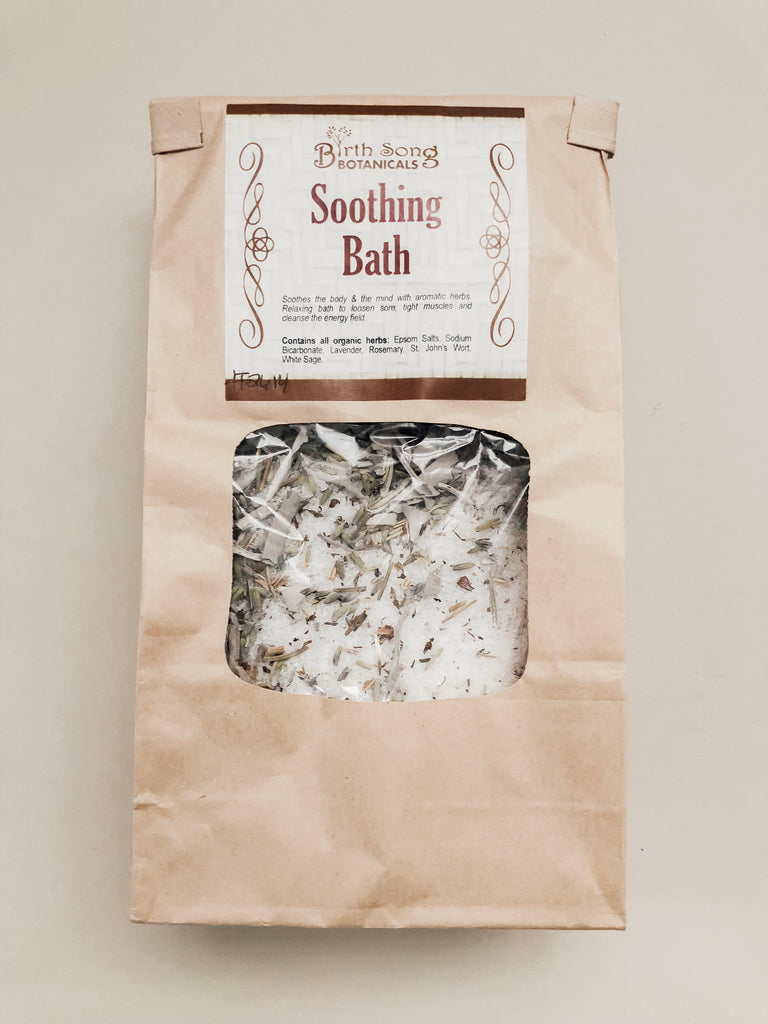 Soothing Herb Bath for Pregnancy Aches + Pains - Wild Creek Co
