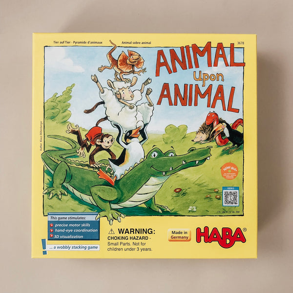 Animal Upon Animal Game