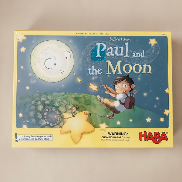 Paul and the Moon Cooperative Memory Game