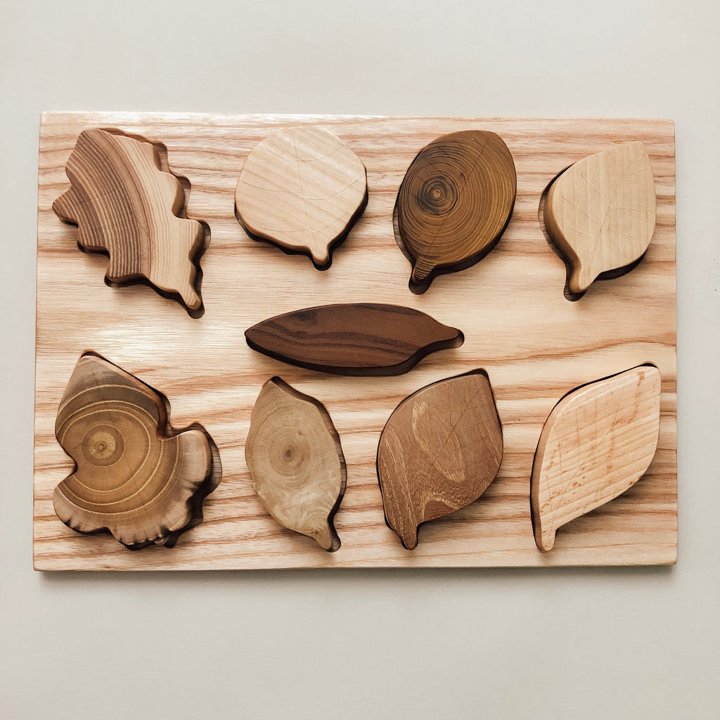 Wooden Leaf Puzzle - Wild Creek Co