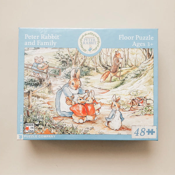 Peter Rabbit + Family 48 Piece Puzzle - Wild Creek Co