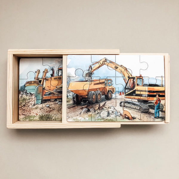 Road Machines Boxed Puzzle - Wild Creek Co
