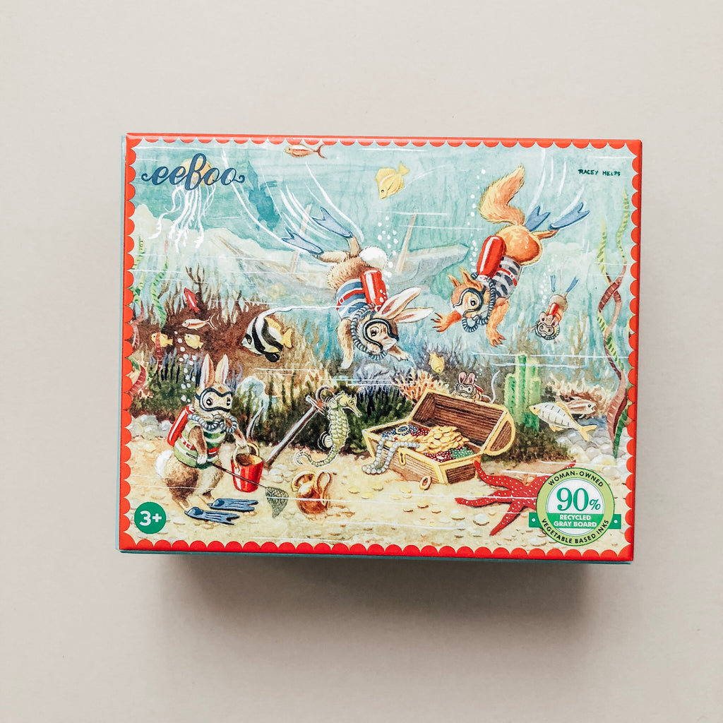 Animal Adventure Mini Puzzles - Wild Creek Co