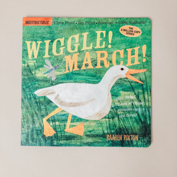 Wiggle!  March! Indestructible Book - Wild Creek Co