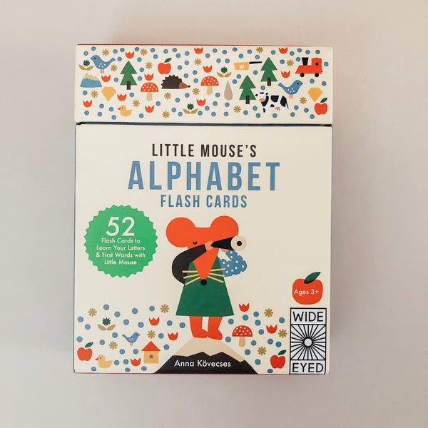 Little Mouse's Alphabet Flash Cards