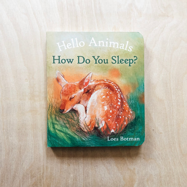 Hello Animals, How Do You Sleep?