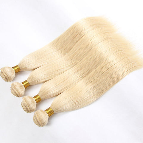 Barbie Blonde Cambodian Straight - ***Four Bundle Deal***