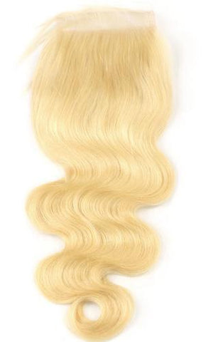 Barbie Blonde Lace Closure **Body Wave**