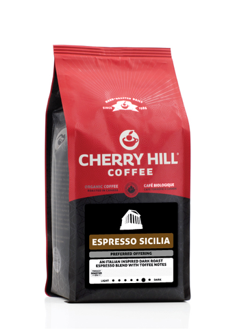 Cherry Hill Coffee Espresso Sicilia