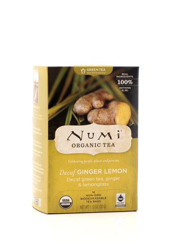 Numi Tea Decaf Ginger Lemon