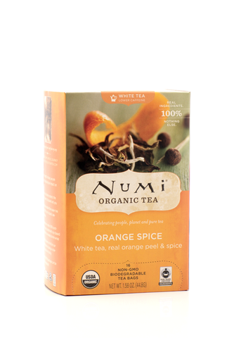 Numi Tea White Orange Spice