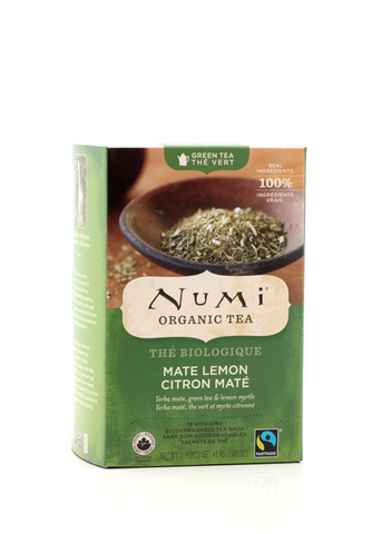 Numi Tea Maté Lemon