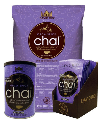 David Rio Orca Spice Sugar Free Chai Tea
