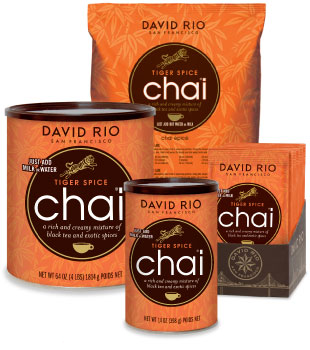 David Rio Tiger Spice Chai Tea