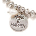 Make it Happen Stretch Bracelet