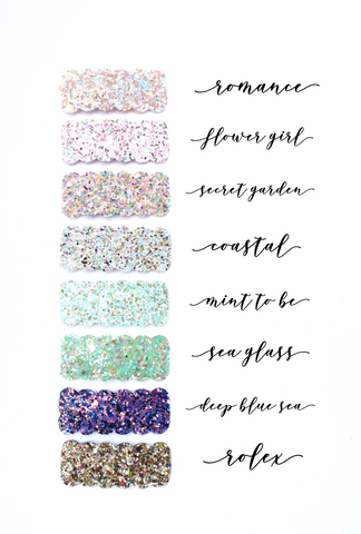 Mixed Glitter Birthday Collection