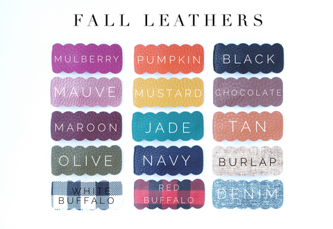 Fall Leathers