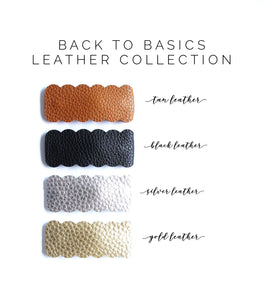 Back to Basics Leather Collection