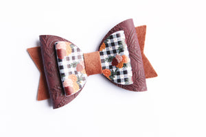 Fall Plaid Floral Grayson