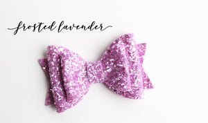 Frosted Lavender Glitter