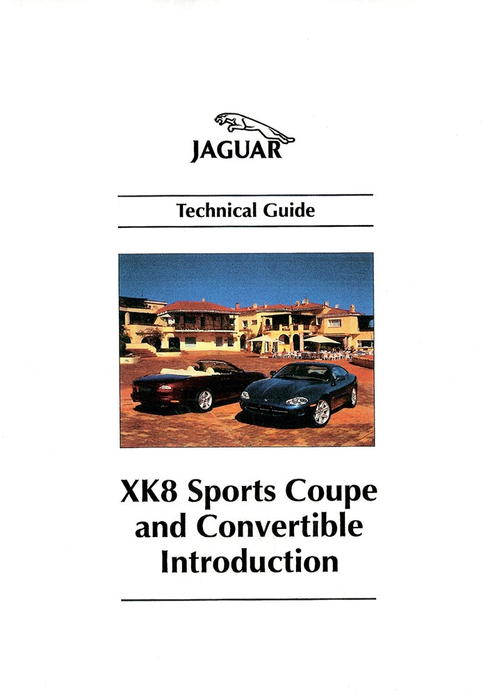 XK8 Sports Coupe & Convertible Introduction