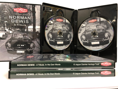 Norman Dewis - A Tribute DVD
