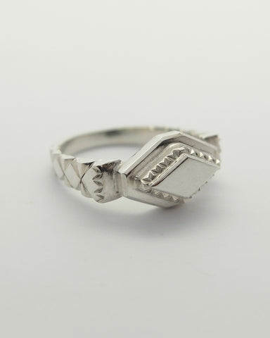 Kyda ring | Solid silver