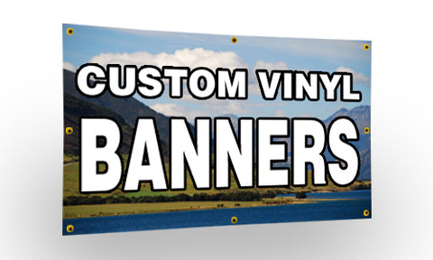 Banner Full Color Printed Vinyl