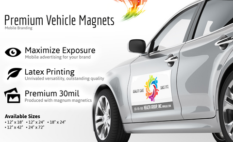 Magnets for Vehicles Full Color