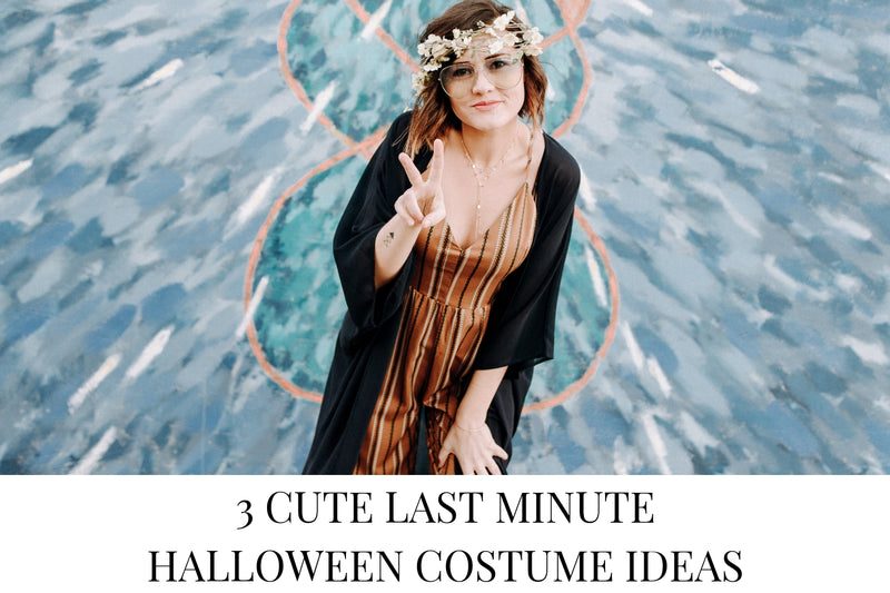 3 Cute Last Minute Halloween Costume Ideas