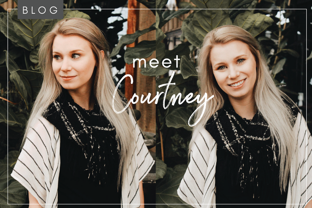 Meet Courtney! Our Brand & Media Designer