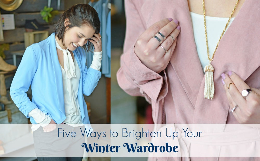 5 Way to Brighten Up Your Winter Wardrobe