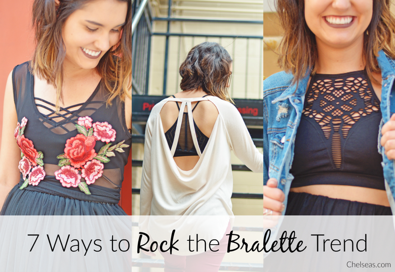 7 Ways to Rock the Bralette Trend