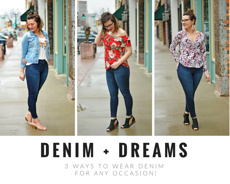 3 Ways To Wear Denim
