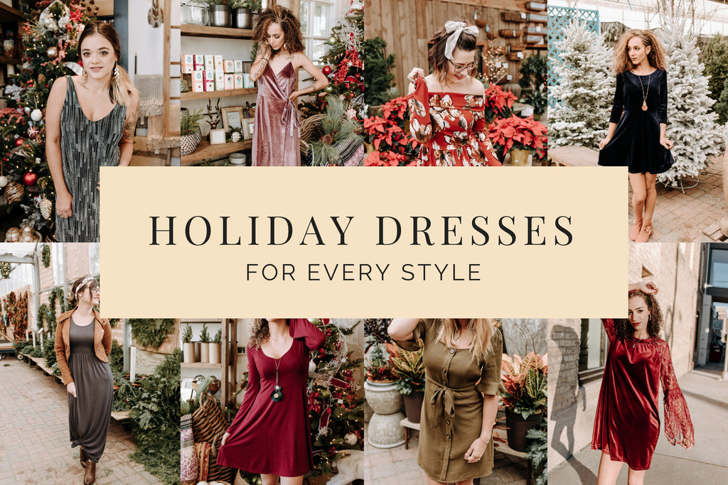 Holiday Dresses For Every Style