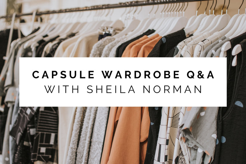 Capsule Wardrobe Q&A With Sheila Norman