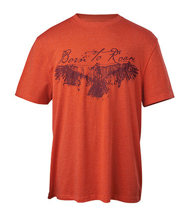 classic, soft cotton T-shirt perfect for hitting the trails or just running to the store.
