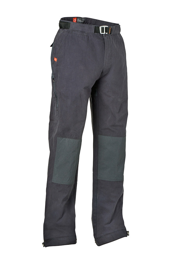 These cotton/nylon trail pants with stretch knee and seat panels, low profile cargo pockets and a belt that doubles as a bottle opener are the ultimate in trail-to-street performance. Perfect as a hiking, climbing or casual pant, the Appalachian Trail is your answer to finding the perfect performance casual trail pant