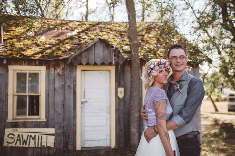 Boho Chic Outddor Wedding