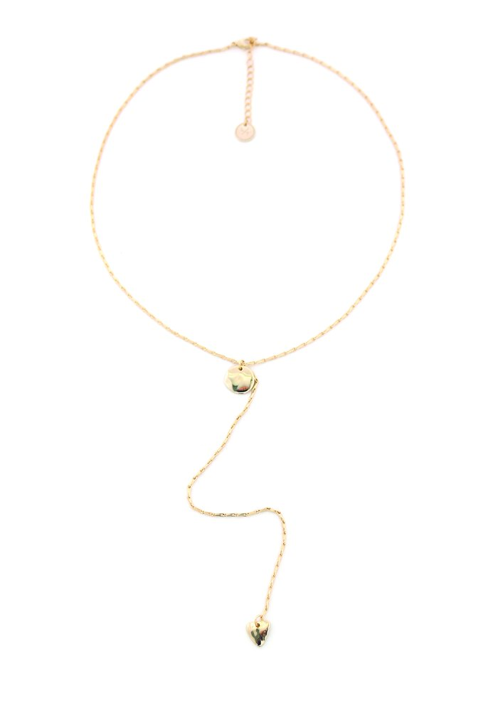 Gold Isla Lariat Necklace Canada