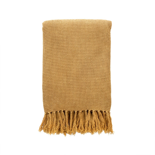 Honey Waffle Throw Blanket