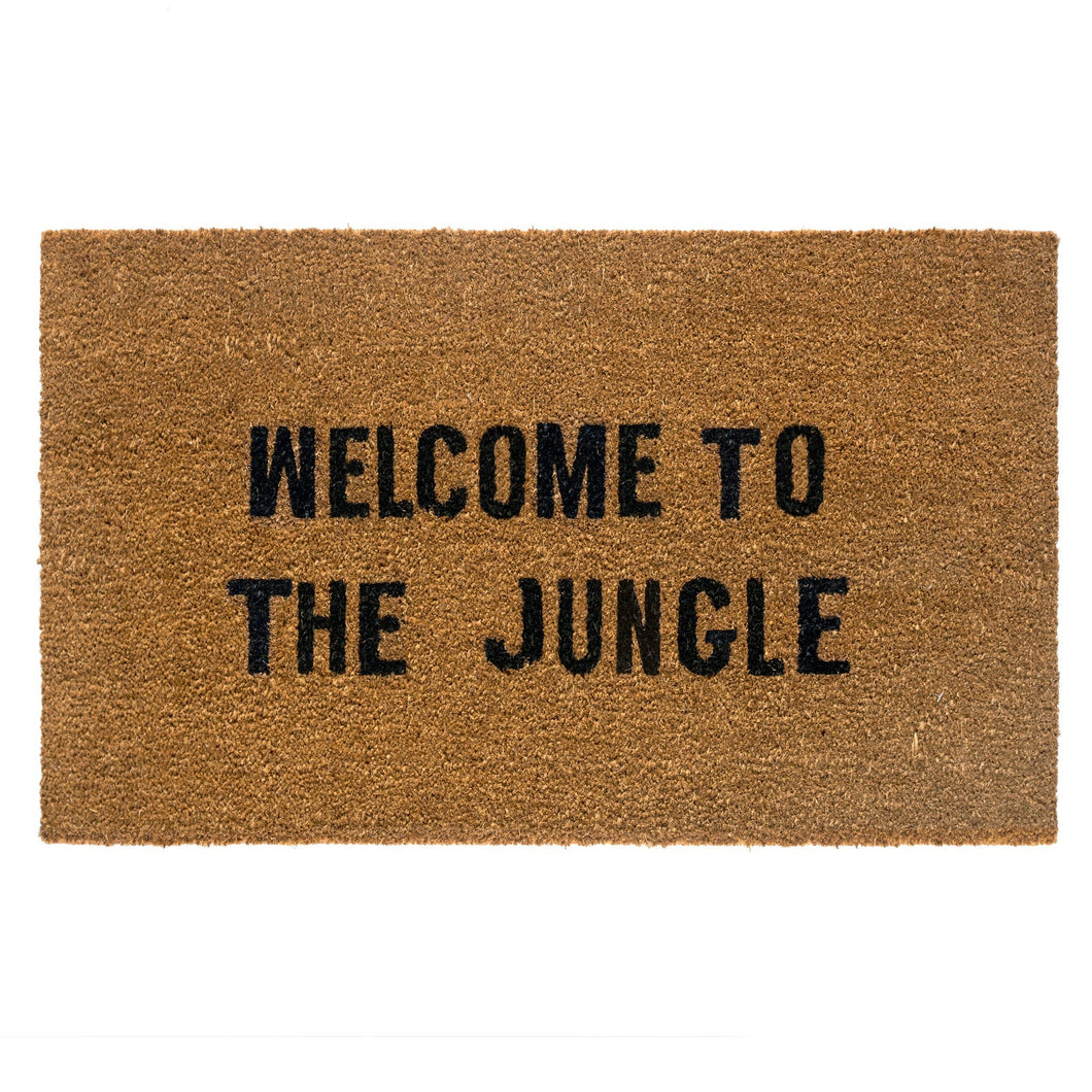 Welcome to the Jungle Coir Doormat