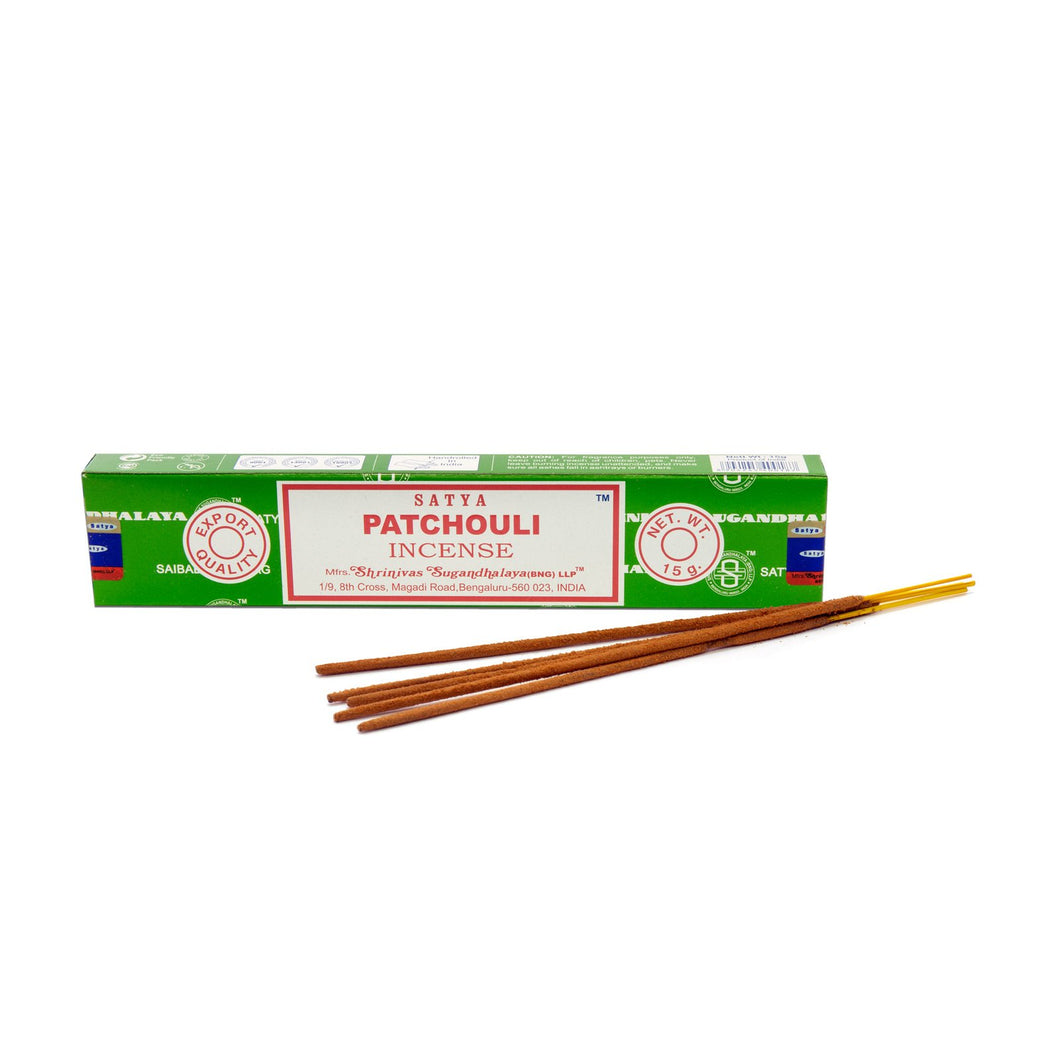 Satya Incense Sticks Patchouli Canada