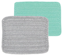 scrub and scour dishcloths set of two silver Canada