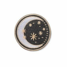 Moon & Stars Embroidered Patch - Vibestyle