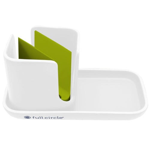 Sink Caddy White Full Circle Canada