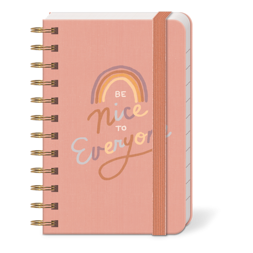 Be Nice to Everyone Mini Notebook