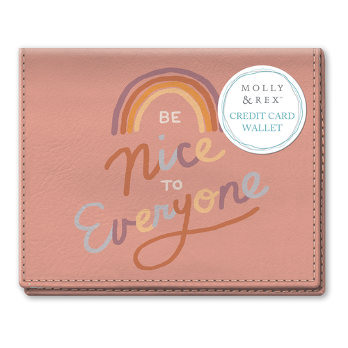 Be Nice to Everyone Credit Card Wallet Canada